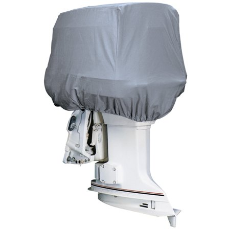 Attwood Road Ready™ Cotton Heavy-Duty Canvas Cover f/Outboard Motor Hood 225-300HP - image 1 de 1