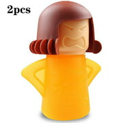 Angry Mom Microwave Cleaner Steam Cleaner Fast Steam Cleaner For Microwave Oven, 2 Pcs