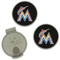 Miami Marlins Hat Clip & Ball Markers Set
