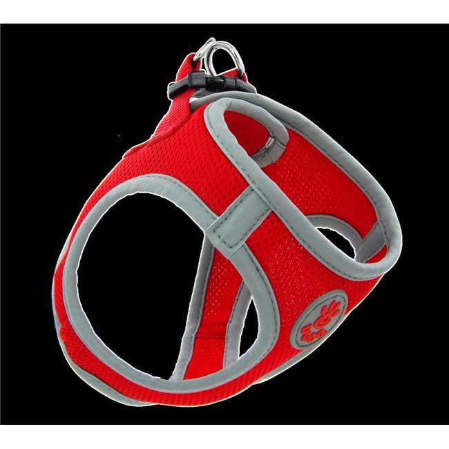 Doco DCA306-S8S Athletica Quick Fit Mesh Harness Leash, Orange - Small