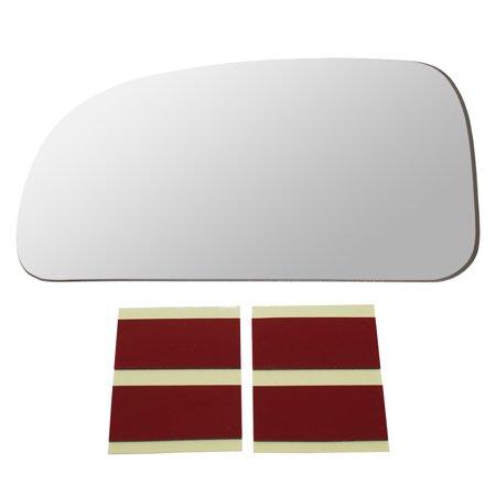 Drivers Side View Mirror Glass w/ Adhesive Strips Replacement for Ascender Bravada Envoy 9-7X Rainier Trailblazer