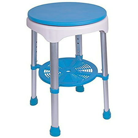 Super Healthline Round Stool Bath Bench Adjustable Height Lightweight Compact And Small Chair For Shower With Non Slip Seat With 360 Degree Padded Camellatalisay Diy Chair Ideas Camellatalisaycom