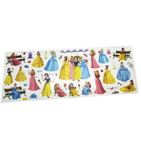 Magic Sticker Disney Princess Assorted Character Large Sticker Sheet