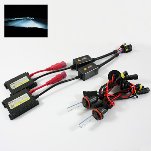 ModifyStreet® H11 35W Hi-Power Slim DC Ballast Xenon HID Conversion Kit - 8000K Plasma White