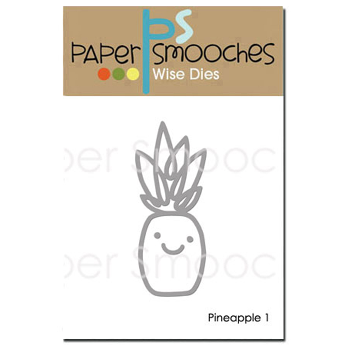 Paper Smooches Dies-Pineapple 1