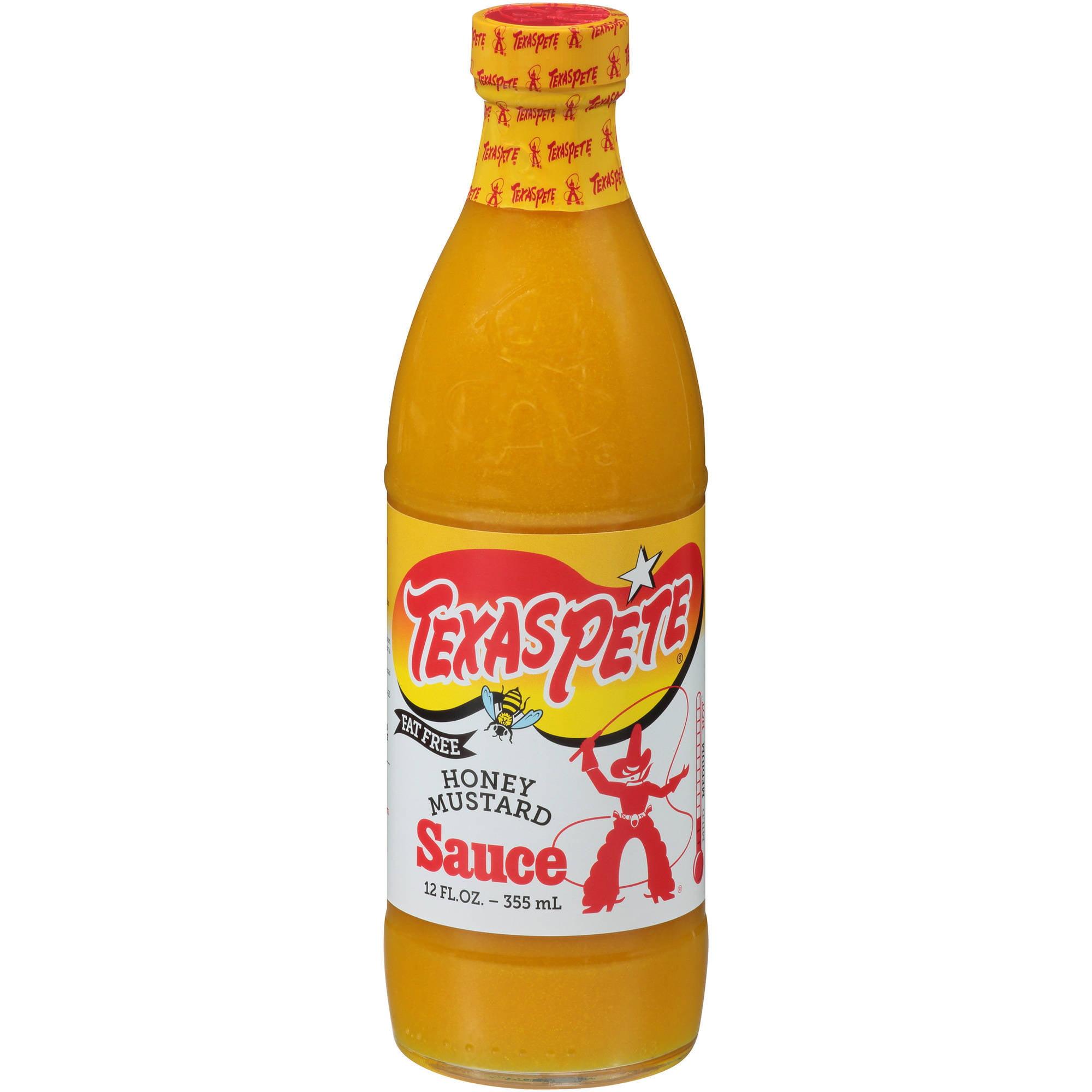 Texas Pete Honey Mustard Sauce, 12 fl oz