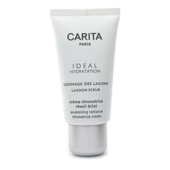 Carita Ideal Hydratation Lagoon Scrub 50ml/1.69oz OZNaturals Facial Cleanser Contains Powerful Vitamin C - This Natural Face Wash Is The Most Effective Anti Aging Cleanser Available - Deep Cleans Your Pores Naturally For A Healthy, Radiant Glow!