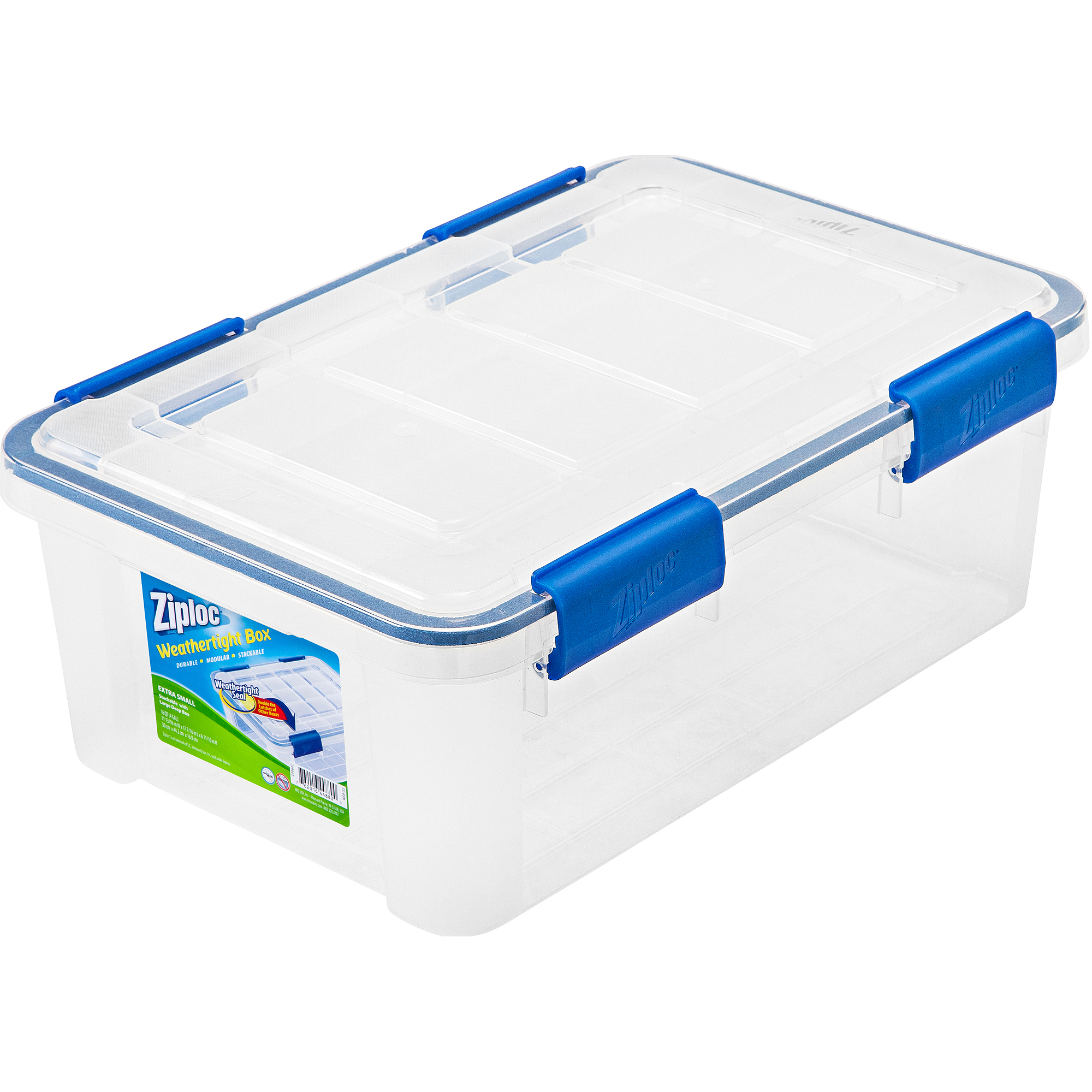 Ziploc 6-Piece Extra Small Weathertight Storage Box Set
