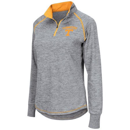 Womens Ncaa Tennessee Volunteers Bikram Long Sleeve Quarter Zip Shirt