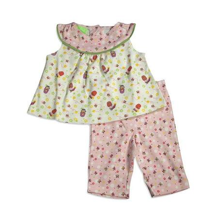 Snopea - Baby Girls Happy Dolls Legging Set PINK / 12