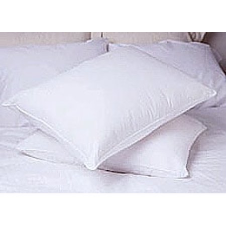 PACIFIC COAST FEATHER COMPANY Deluxe Cotton Medium-soft Support Natural Feather Pillows (Set of 2) White Standard Company Store Pillow