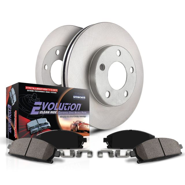 Power Stop KOE15235DK Autospecialty OE Replacement Rotor & Drum Brake Kit -Front & Rear
