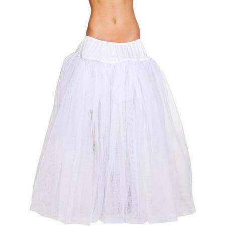 White Petticoat - Full Length