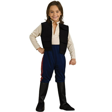 Boys Deluxe Han Solo Costume - Fantasy Costumes Ideas