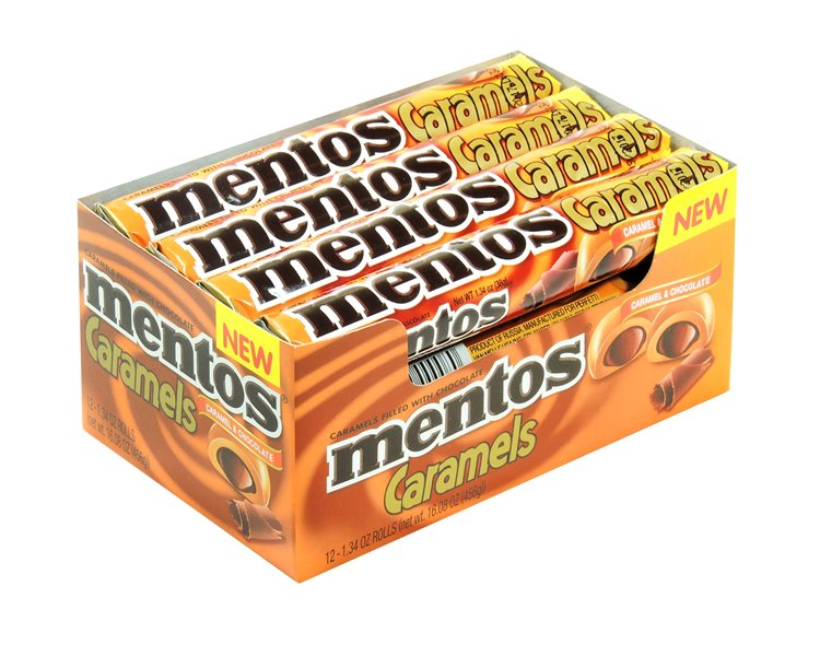 Mentos Caramels & Chocolate 12 Count by