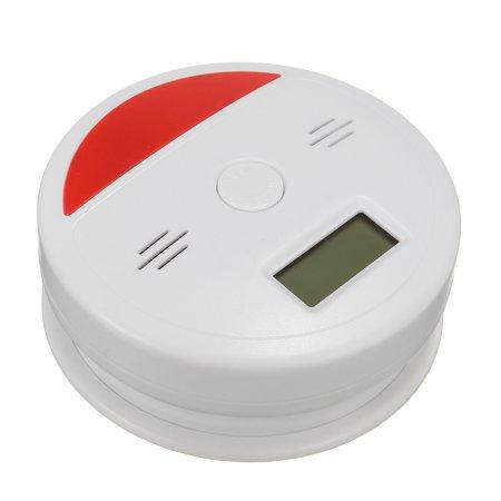 2 In 1 Battery Operated LCD Carbon Monoxide & Smoke Alarm / CO Carbon Monoxide Detector Fire Sensor Alarm Sound Combo Sensor Tester with Digital Display - image 4 of 10