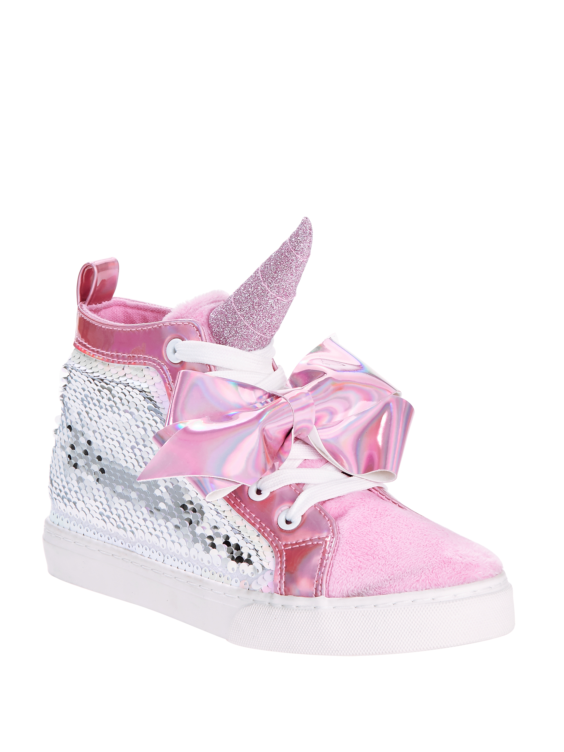 Jojo Siwa Jojo Siwa Girls Unicorn High Top Sneakers Walmart