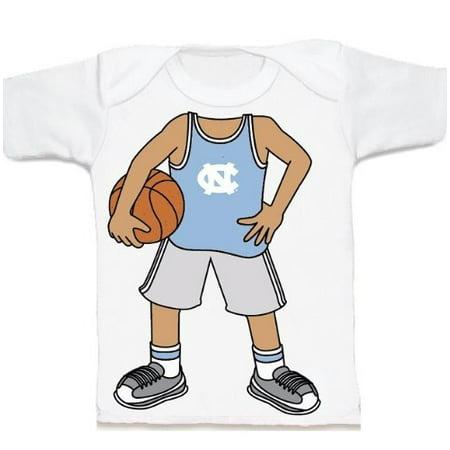 Unc Carolina Tar Heels (UNC North Carolina Tar Heel Heads Up! Basketball Infant/Toddler T-Shirt )
