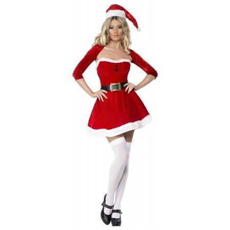 Santa Babe Adult Costume - Medium (Santa Costumes For Adults)