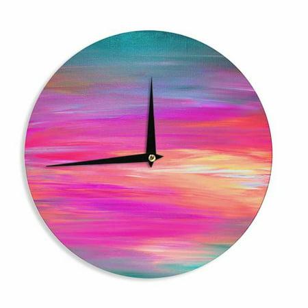 East Urban Home Ebi Emporium Bright Horizons 2 12 Wall Clock