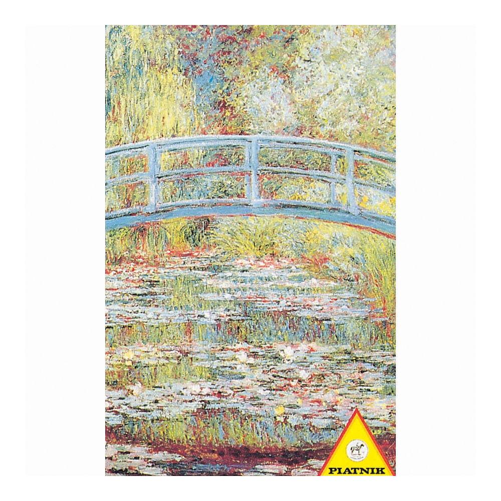 Piatnik Monet Japanese Bridge Jigsaw Puzzle: 1000 Pcs