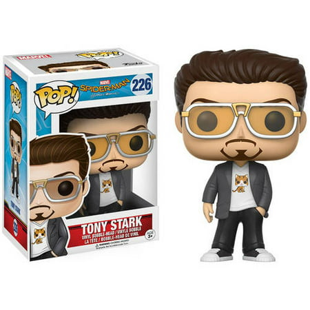 Funko Pop  Marvel  Spider Man   Tony Stark Funko Pop  Marvel  Spider Man   Tony Stark
