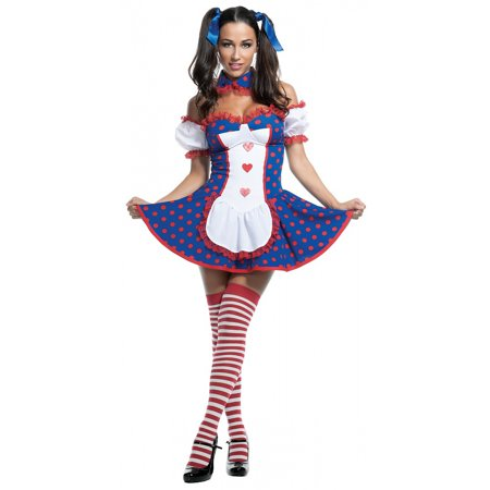 Risque Rag Doll Adult Costume - Medium - Rag Doll Costume Adults