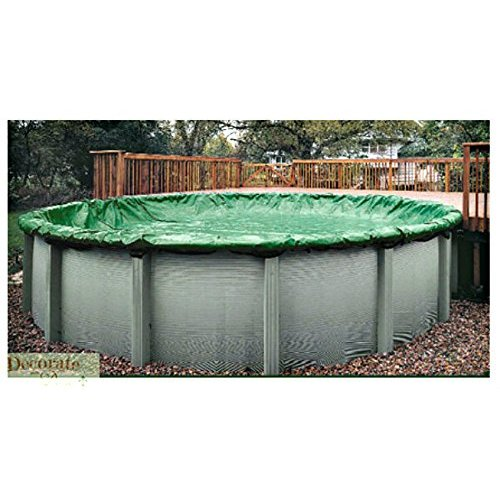 Winter Protective Above Ground Pool Solid Cover 28 Round