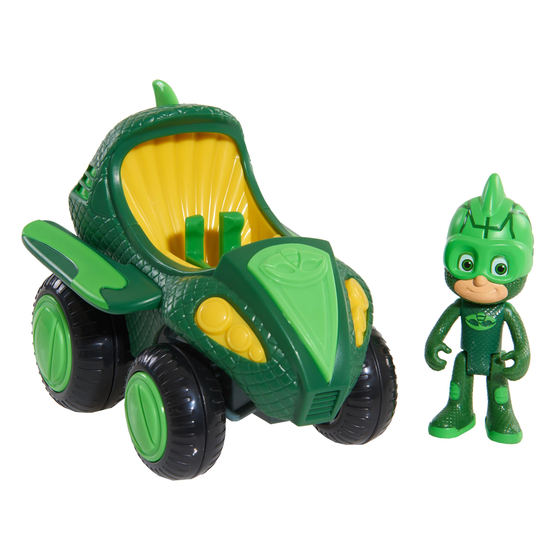 PJ Masks Hero Boost Vehicles - Gekko-Mobile & Gekko Figure