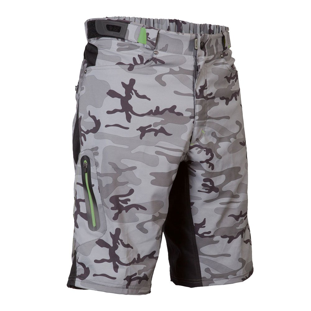 "Zoic Ether Short Gray Camo MD 30""-32"" Waist"