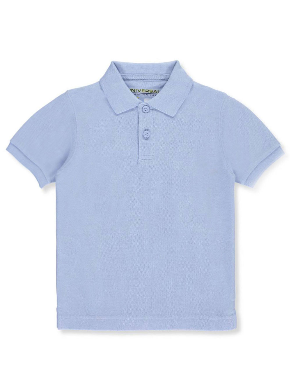 Universal Little Boys' S/S Pique Polo (Sizes 4 - 7)