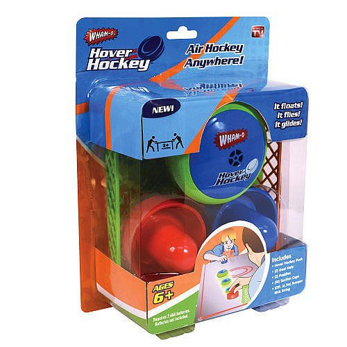 Wham-O Hover Hockey Portable Pocket Size AIR HOCKEY SET Play Air Hockey Anywhere, The secret is the specially designed... by