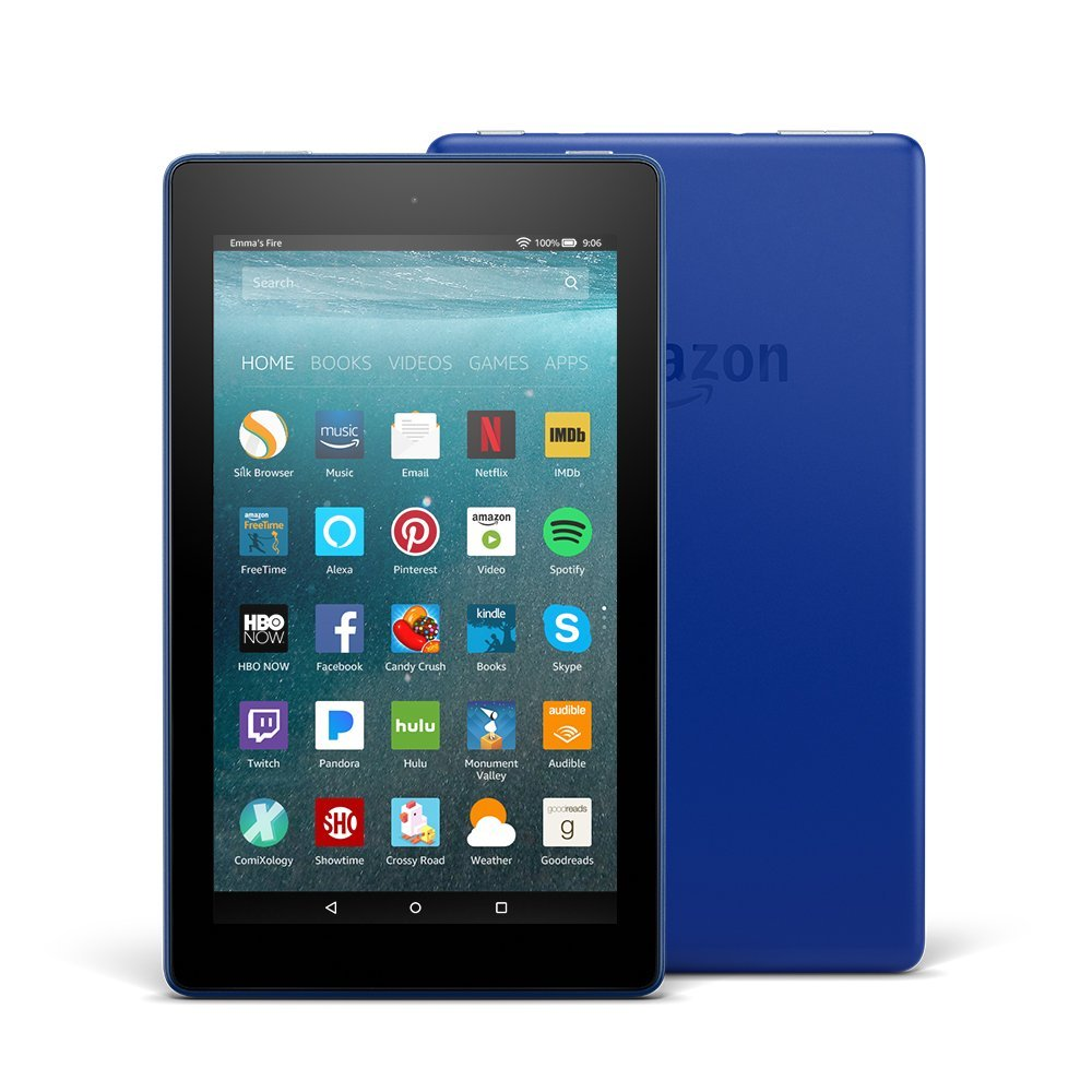 Amazon Fire 7 Tablet - 7 - 1 GB QUAD-CORE (4 Core) 1.30 GHZ - 16 GB - Fire OS 5 - 10...