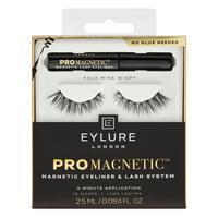 Eylure ProMagnetic Liner & Faux Mink Wispy False Eyelash