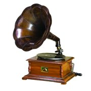 Wood Metal Gramophone To Match Passion For Music