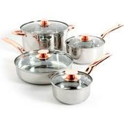 Sunbeam Ansonville Stainless Steel 8 Piece Cookware Set