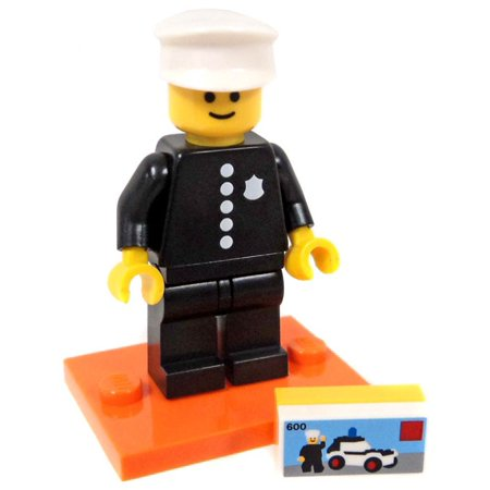 LEGO Series 18 Classic Police Officer Minifigure [No Packaging]