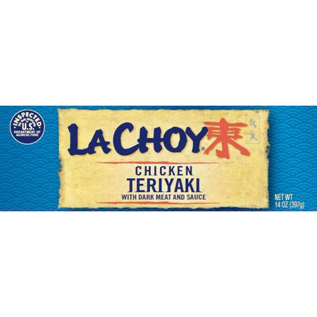 La Choy Chicken Teriyaki White Meat Chicken & Sauce With Asian-style Vegetables, 42 oz. 1 Rice Vegetables Stews