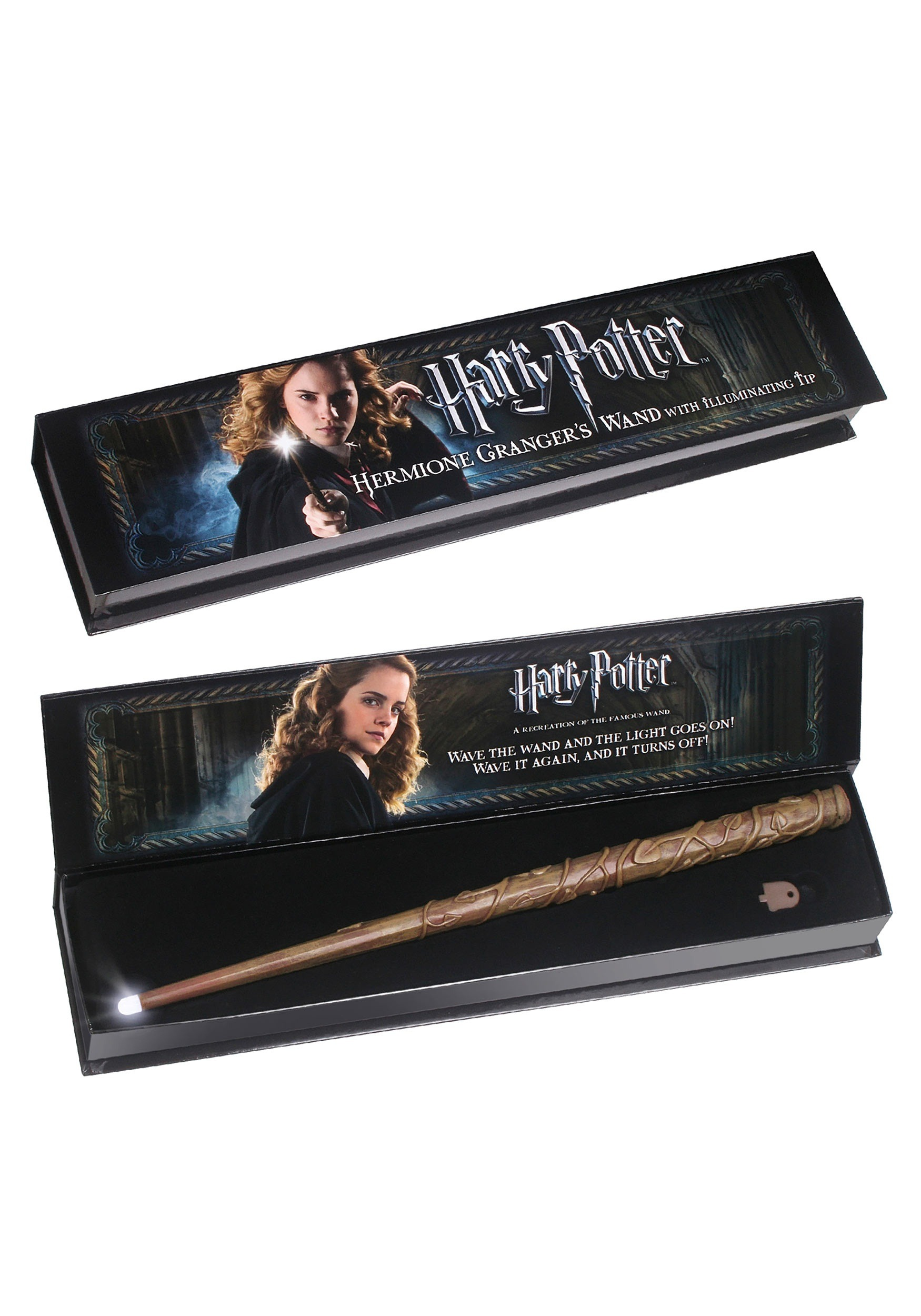 The Noble Collection Hermione Granger/'s Illuminating Wand