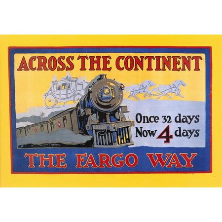Wells Fargo Express 1915Nbanner For Wells Fargo   Co Express 1915 Poster Print By Granger Collection
