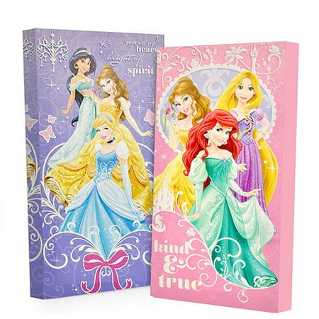 Disney Yard Art - Disney Princess Glow in the Dark 2-Pack Canvas Wall Art