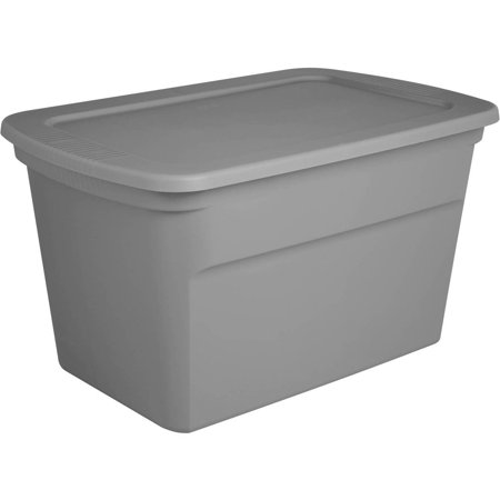 Sterilite 30 Gal Tote, Titanium (Available in Case of 6 or Single Unit)
