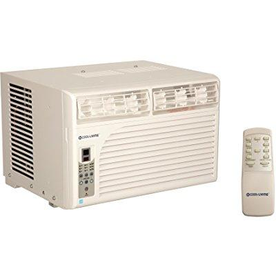 cool living 15000 btu energy star window mount room air c...