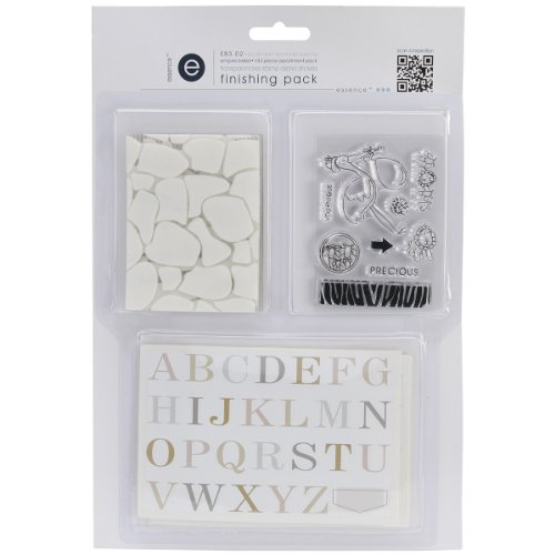 Ruby Rock-It Empire Bebe Finishing Pack No.2 Transparencies, Stamp and Alpha Stickrs Multi-Colored