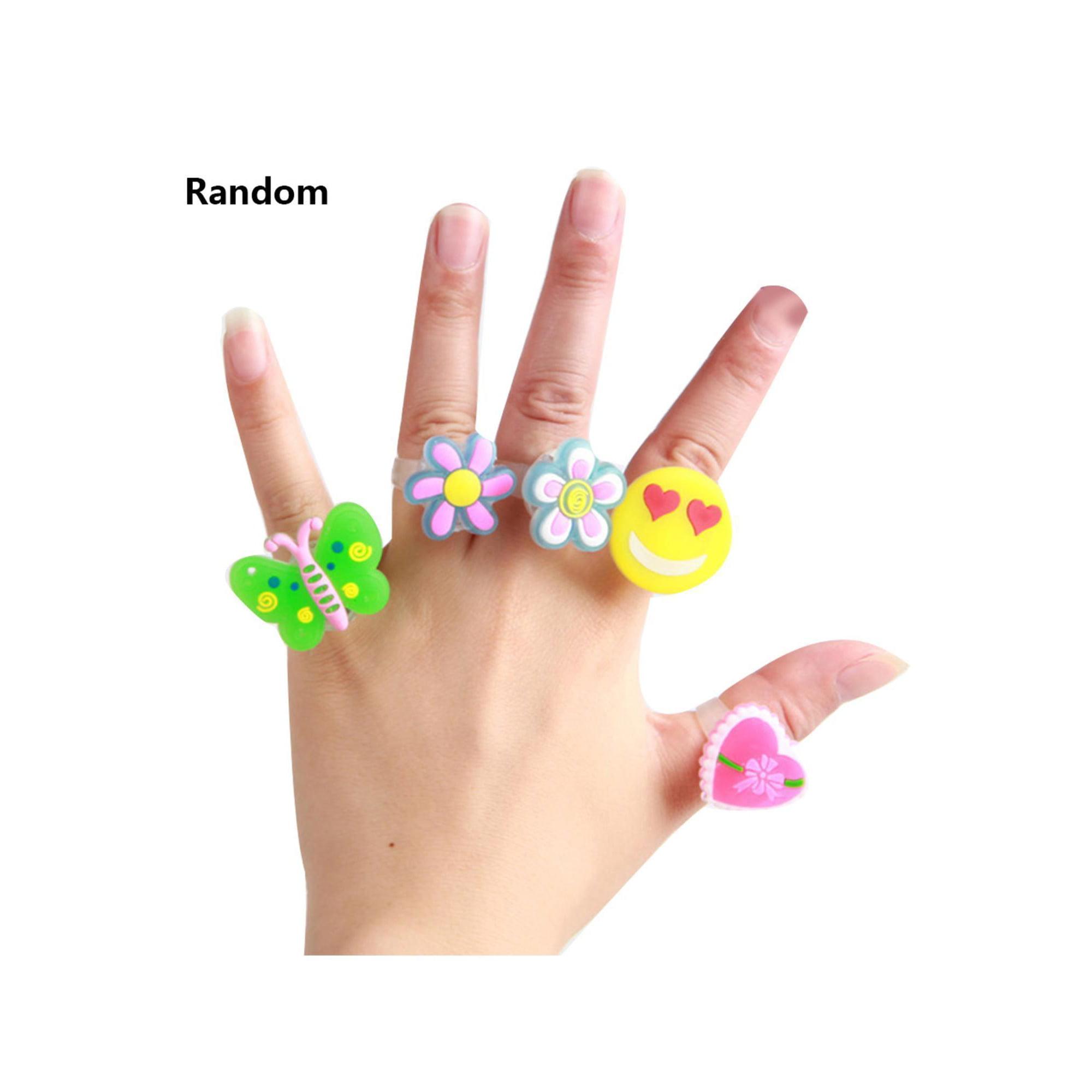 2019 Creative Cartoon Led Flash Rings Children's Luminous Toys Finger Jewelry Toys Caroj   Walmart Canada