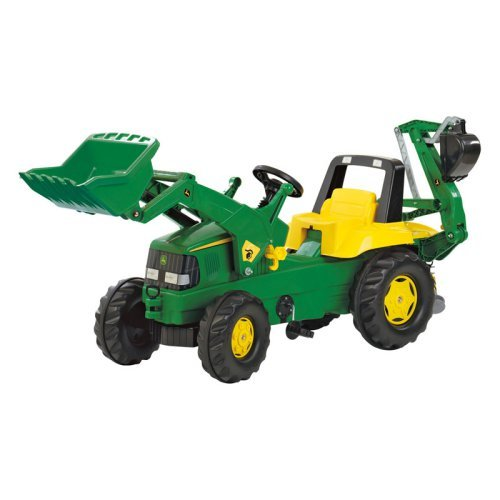 John Deere Backhoe Loader Pedal Riding Toy