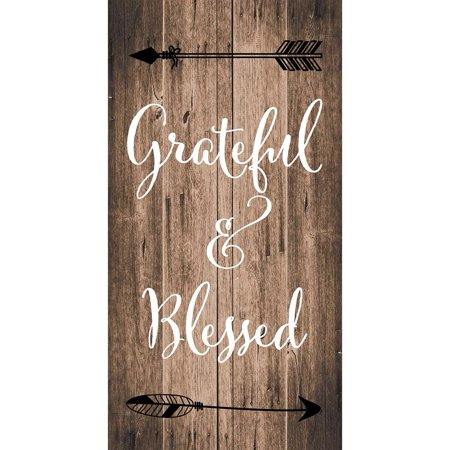 Series Custom Panel - Custom Decor Art Panel - Grateful and Blessed