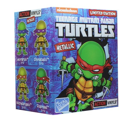Teenage Mutant Ninja Turtles Blind Box Metallic Action Vinyl - One Random (Ninja Turtles Blind Box Set)