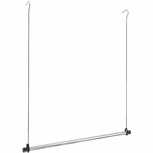 Whitmor Manufacturing 6021 378 Double Hang Closet Rod