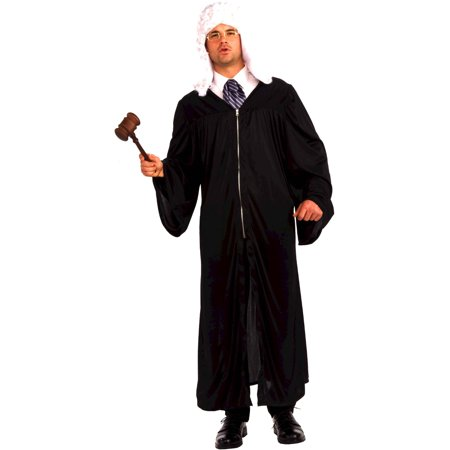 Adult Magistrate Supreme Court Judge Costume Or Wizard Robe - Wizard Robe